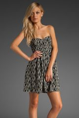 Parker Strapless Dress - Lyst