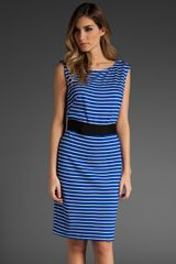 Trina Turk Parallel Stripe Dress - Lyst