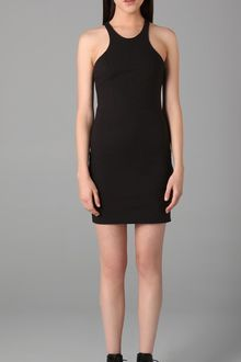 T By Alexander Wang Racer Back Jersey Dress - Lyst