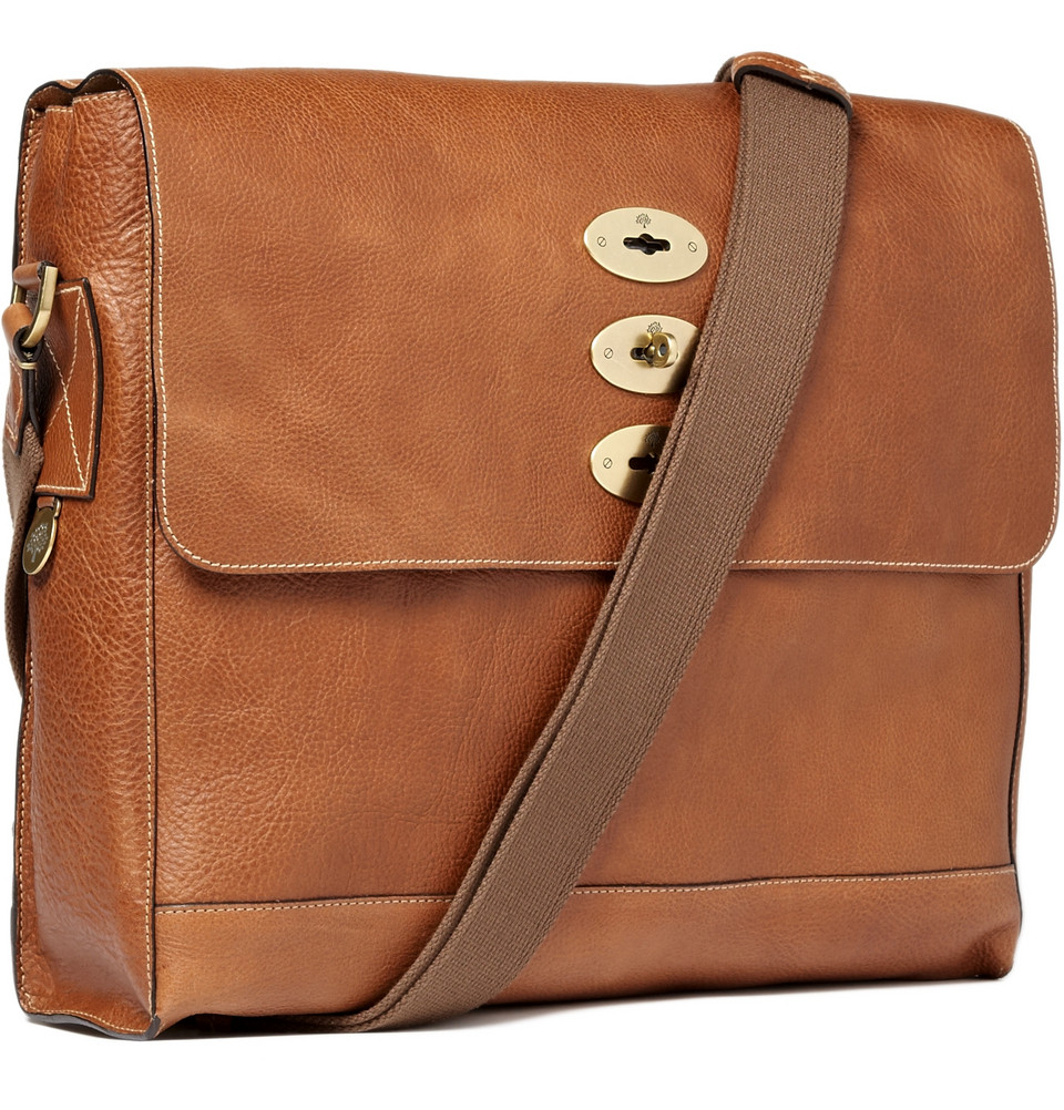 a2c16db055 ... closeout lyst mulberry brynmore leather messenger bag in brown for men  923e5 d14a1