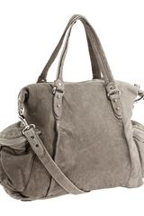Olivia Harris Washed Cargo Convertible Satchel - Lyst