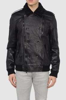 3.1 Phillip Lim Leather Outerwear - Lyst