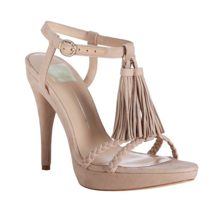 Dolce Vita Womens Noles Strappy Round - Heel Sandals in