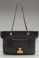 Marc Jacobs Astor Quilted Shoulder Tote - Lyst