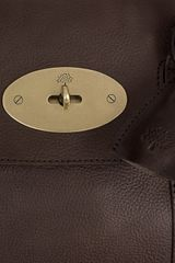 Mulberry Bayswater Leather Bag in Brown (chocolate) - Lyst