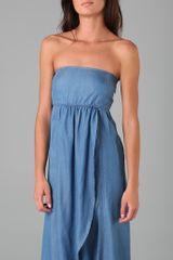 One By Charley 5.0 Go with The Flow Maxi in Blue - Lyst