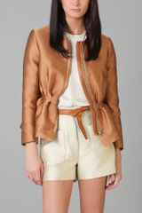 3.1 Phillip Lim Floating Peplum Jacket - Lyst