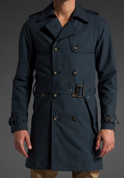 Shades Of Grey By Micah Cohen The Churchill Trench Coat In
