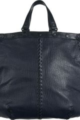 Bottega Veneta Breezy Lamb Messenger - Lyst