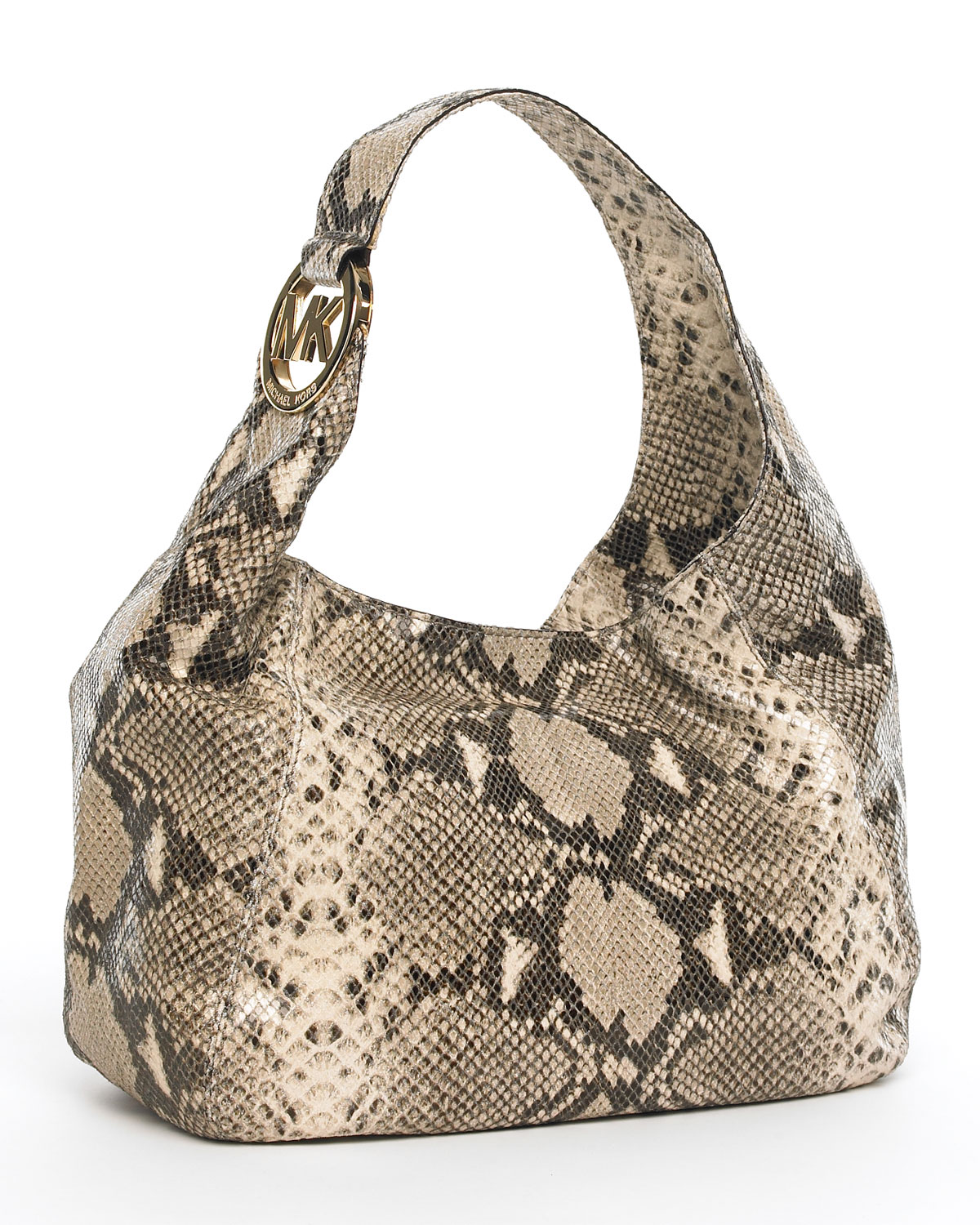 Michael Michael Kors Fulton Medium Shoulder Bag Dark Sand 67