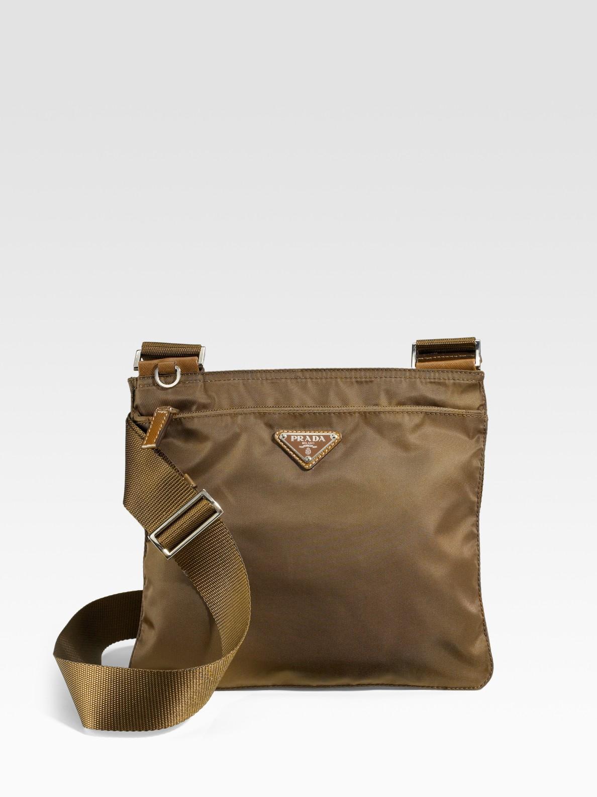 b015a231e04a Prada Messenger Bag Nylon Brown | Stanford Center for Opportunity ...