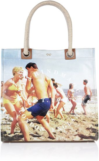 Anya Hindmarch Beach Party Tote - Lyst