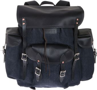 Duluth Denim Backpack - Lyst