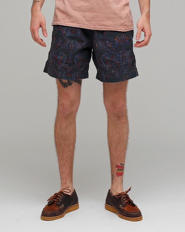 Vanishing Elephant Drawcord Shorts Class Make You Become More Chic