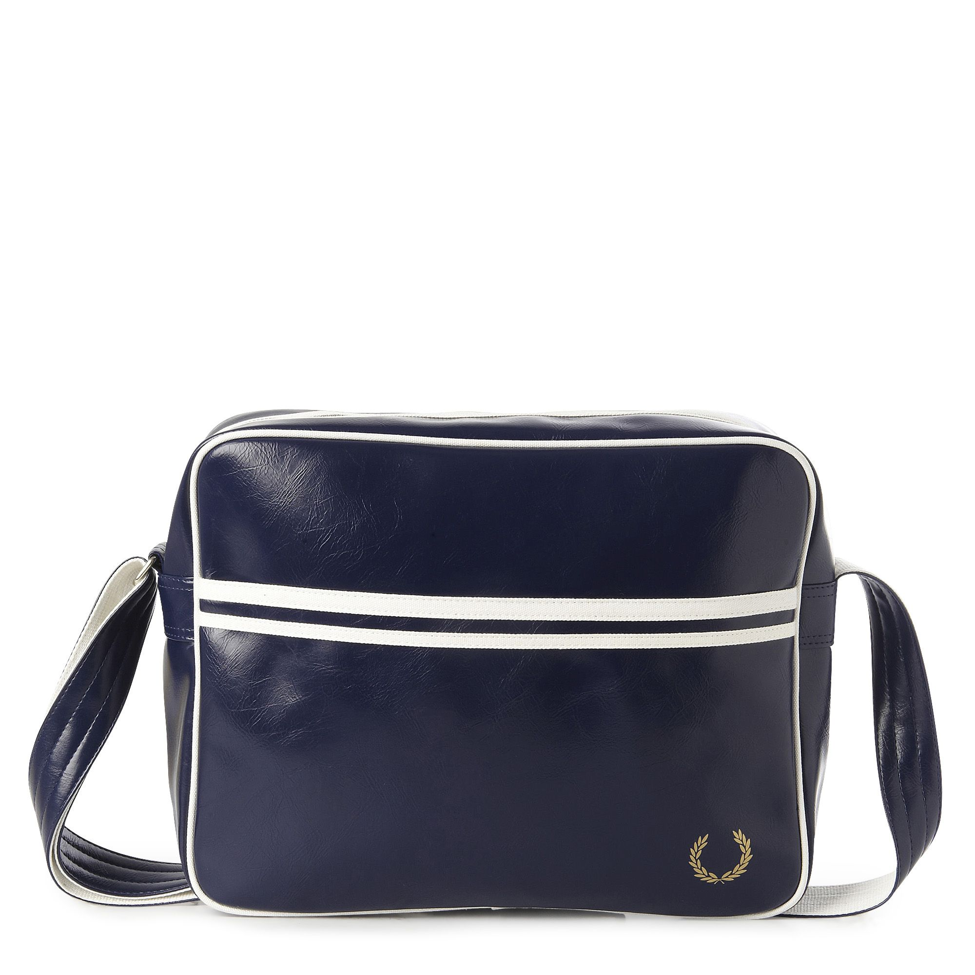 Fred Perry Vintage Shoulder Bag Navy 61