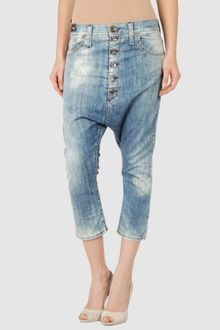 Miss Sixty Denim Capris - Lyst
