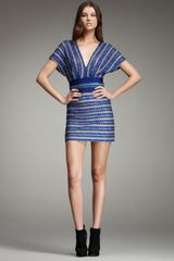 Missoni Banded V-neck Dress - Lyst