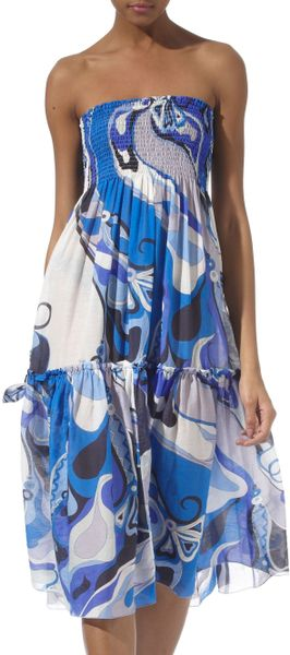 Pucci Swirl Print Dress and Skirt - Lyst