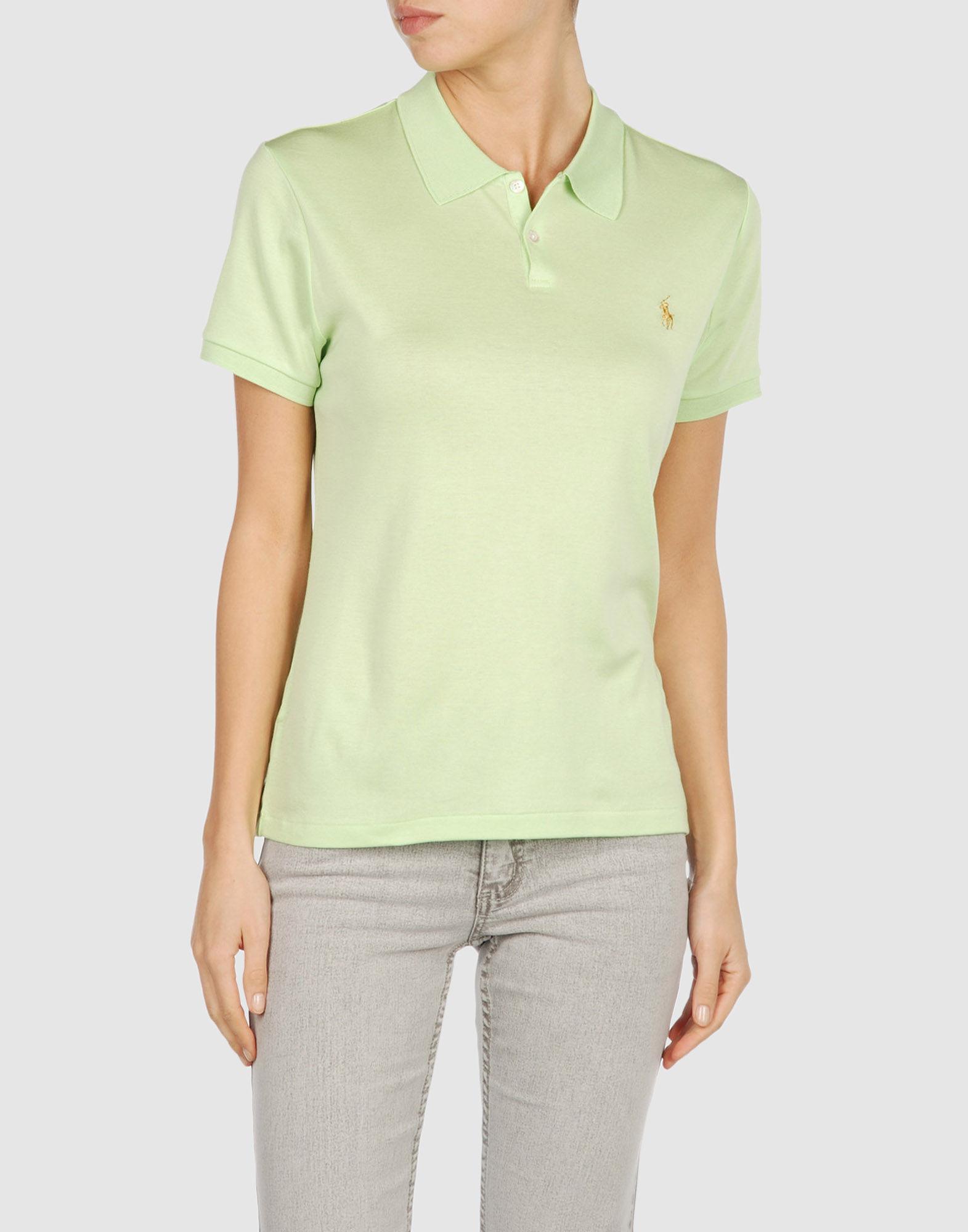 Ralph lauren black label polo shirt in green lyst for Ralph lauren black label polo shirt