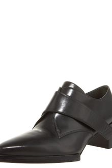 Alexander Wang Shiny Monk-strap Loafer - Lyst