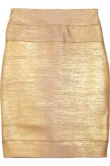 Hervé Léger High-waisted Bandage Skirt - Lyst
