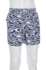 Vilebrequin Navy Swimming Fish Moorea Swim Trunks - Lyst
