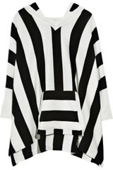 Alice + Olivia Jaimie Cotton-blend Poncho - Lyst