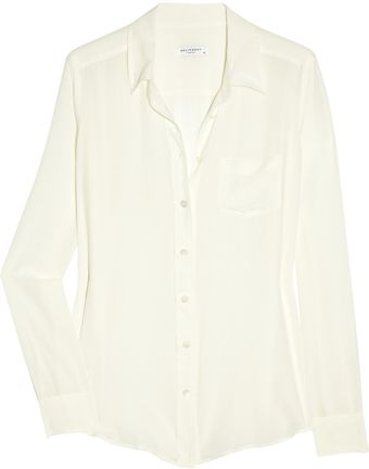 Equipment Brett Washed-silk Shirt - Lyst
