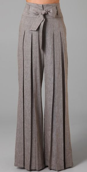 L.a.m.b. Cross Dye Wide Leg Pants - Lyst