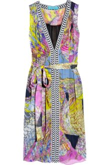 Matthew Williamson Escape Printed Silk-chiffon Dress - Lyst