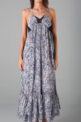 Plastic Island Garden Of Eden Maxi Dress - Lyst