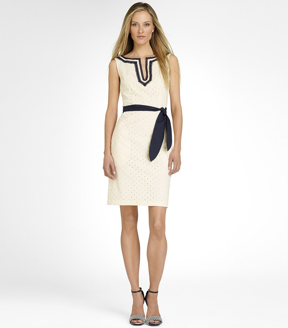 Tory burch Sheldon Dress in White
