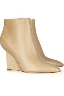 Camilla Skovgaard Leather Wedge Ankle Boots - Lyst