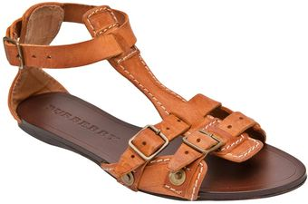 Burberry Prorsum Aviator Flat Sandals - Lyst