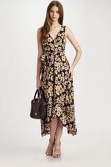 Marc By Marc Jacobs Lou Lou Flower Dress - Lyst