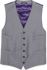 Paul Smith Wool-blend Suit Waistcoat - Lyst