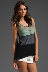 Laugh Cry Repeat Colorblock Tank - Lyst