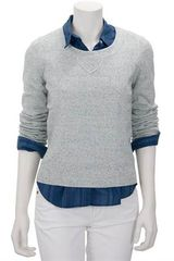 Rag & Bone Denim Sweater - Lyst