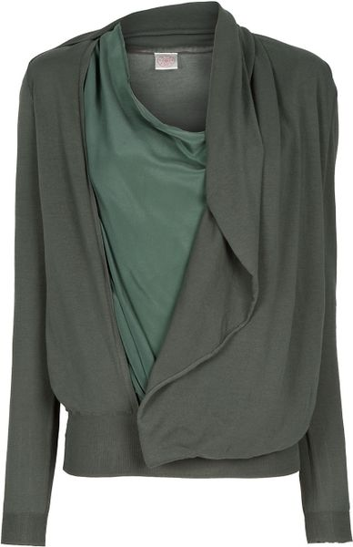 A F Vandevorst Jordan Sweater in Green (khaki) - Lyst