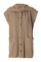 Weekend By Maxmara Chunky Knit Cardigan - Lyst