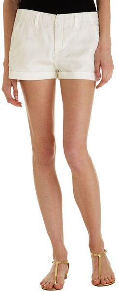 Rag & Bone Misfit Short - White - Lyst