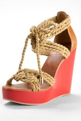 Tory Burch Tarlen Wedge - Lyst
