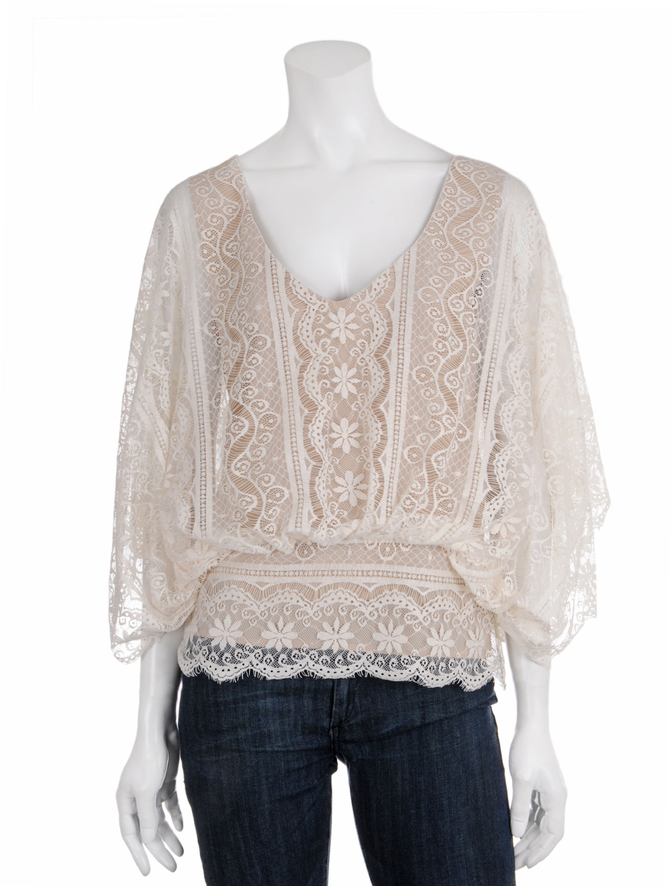 Vintage Lace Blouse | Fashion Ql