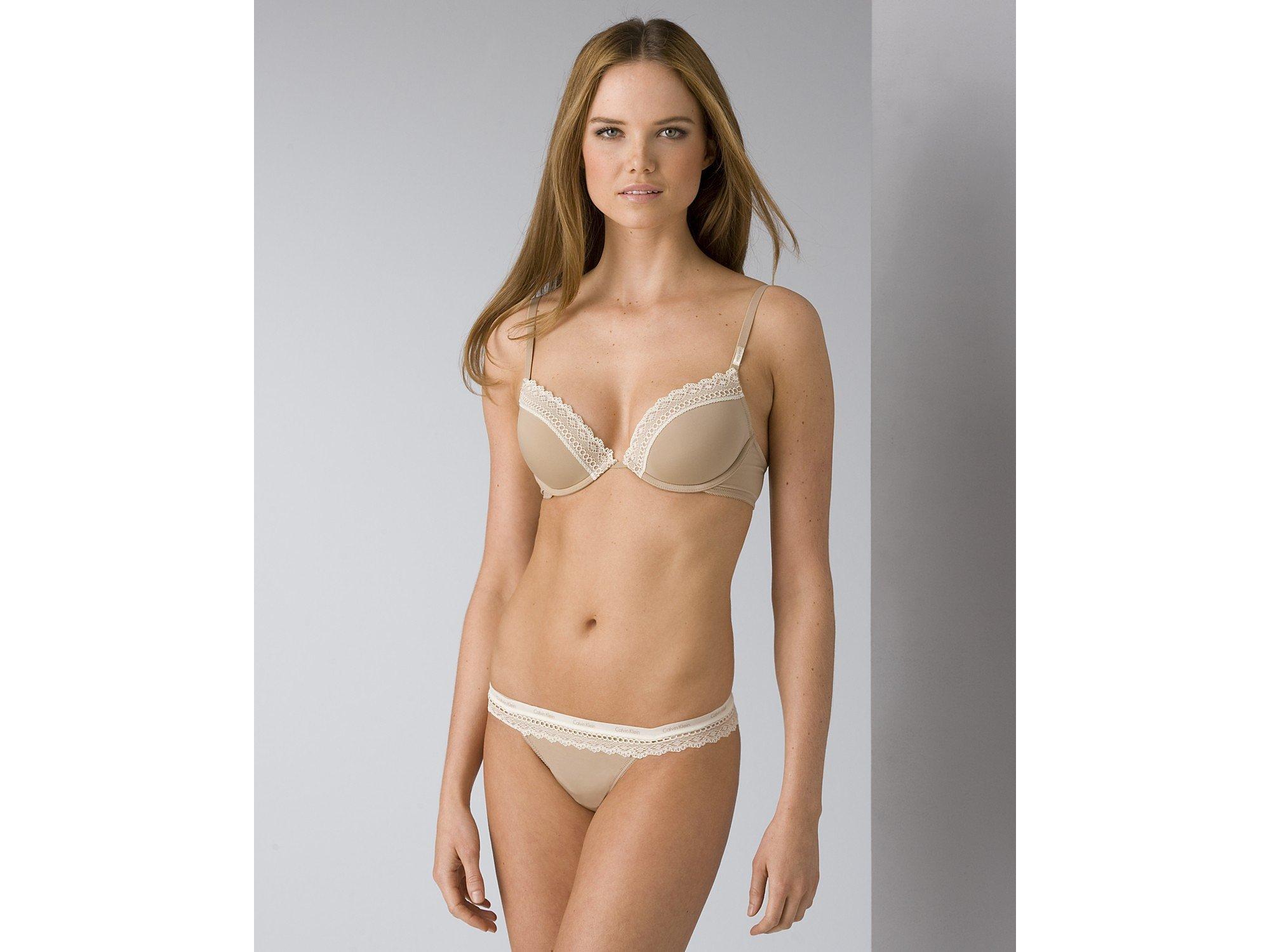 33f16a72e2a Lyst - Calvin Klein Underwear Womens Perfectly Fit Flirty Push-up ...