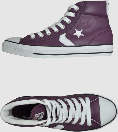 e9d139a585e9f5 Purple high top converse - Lookup BeforeBuying