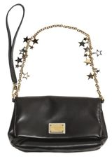 Dolce & Gabbana Nappa with Gold Star Chain Clutch