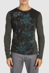 Just Cavalli Long Sleeve T-shirt - Lyst
