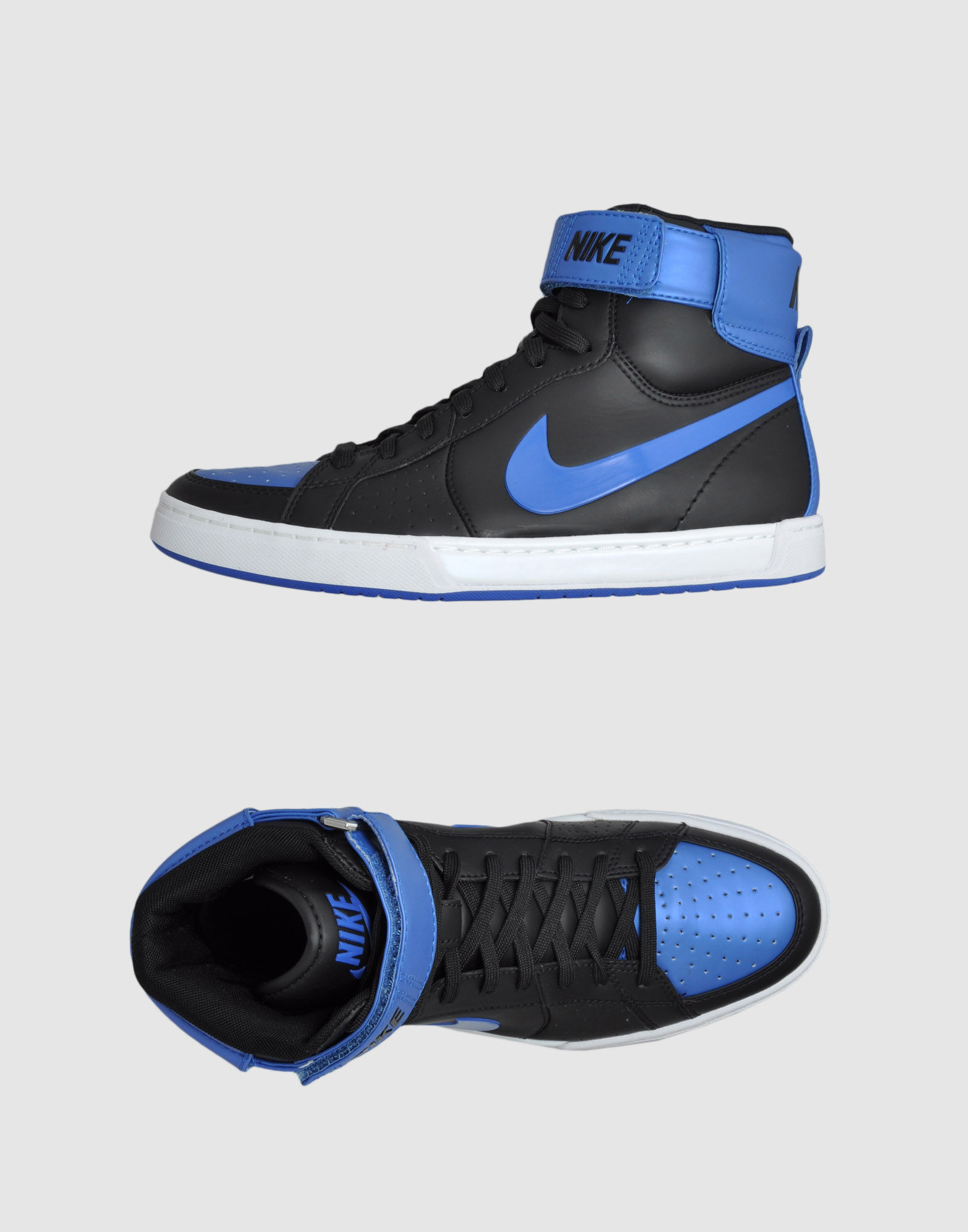 nike high top sneaker in blue for men black lyst. Black Bedroom Furniture Sets. Home Design Ideas