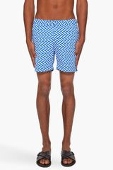 Orlebar Brown Bulldog Print Beach Shorts - Lyst