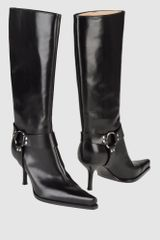 Sergio Rossi High-heeled Boots - Lyst